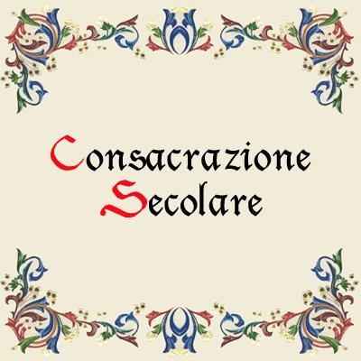 Consacrazione Secolare