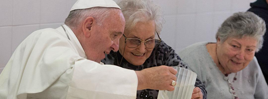 Papa y pobres