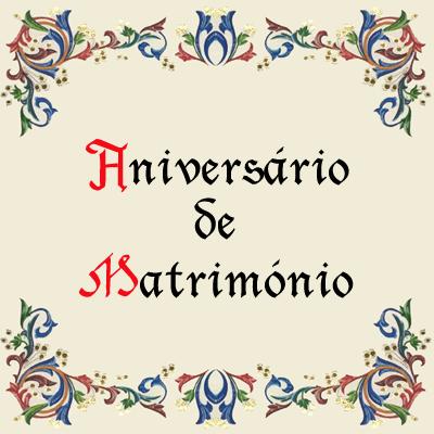 Aniversário de Matrimónio