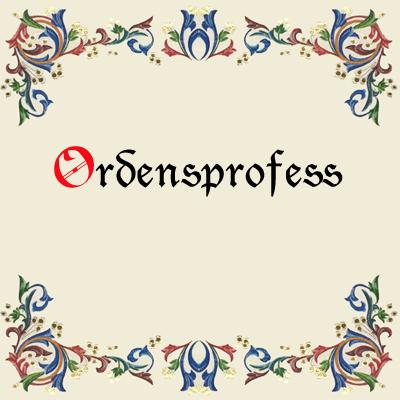 Ordensprofess